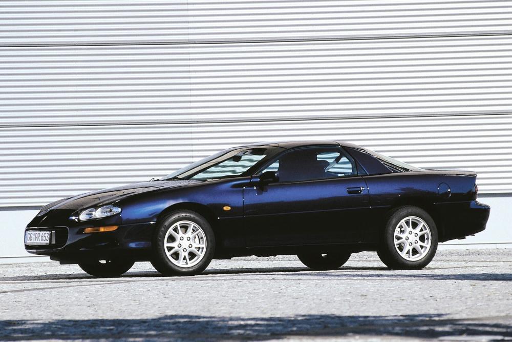Chevrolet Camaro 4 поколение рестайлинг Купе