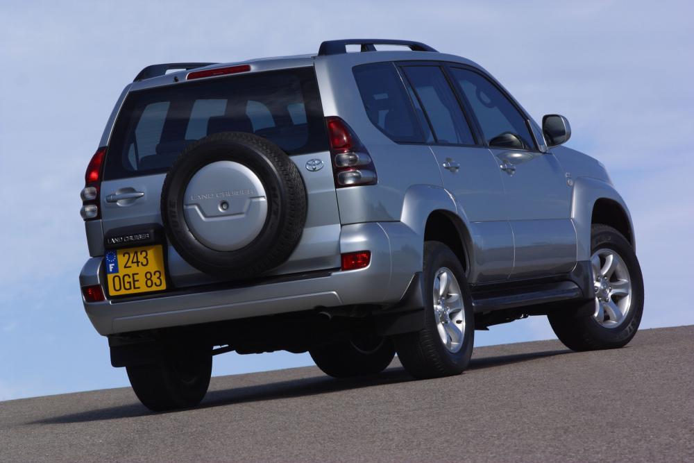 Toyota Land Cruiser Prado J120 (2002-2009) Внедорожник 5-дв.