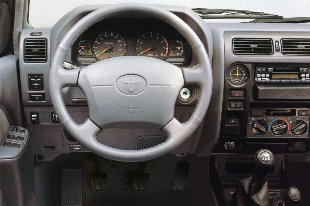 Toyota Land Cruiser Prado J90 (1996-2000) Внедорожник 5-дв. интерьер