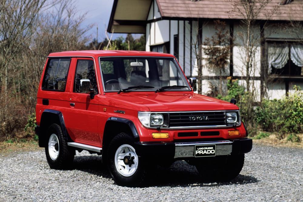 Toyota Land Cruiser Prado 1 поколение J70 (1990-1996) Внедорожник 3-дв.