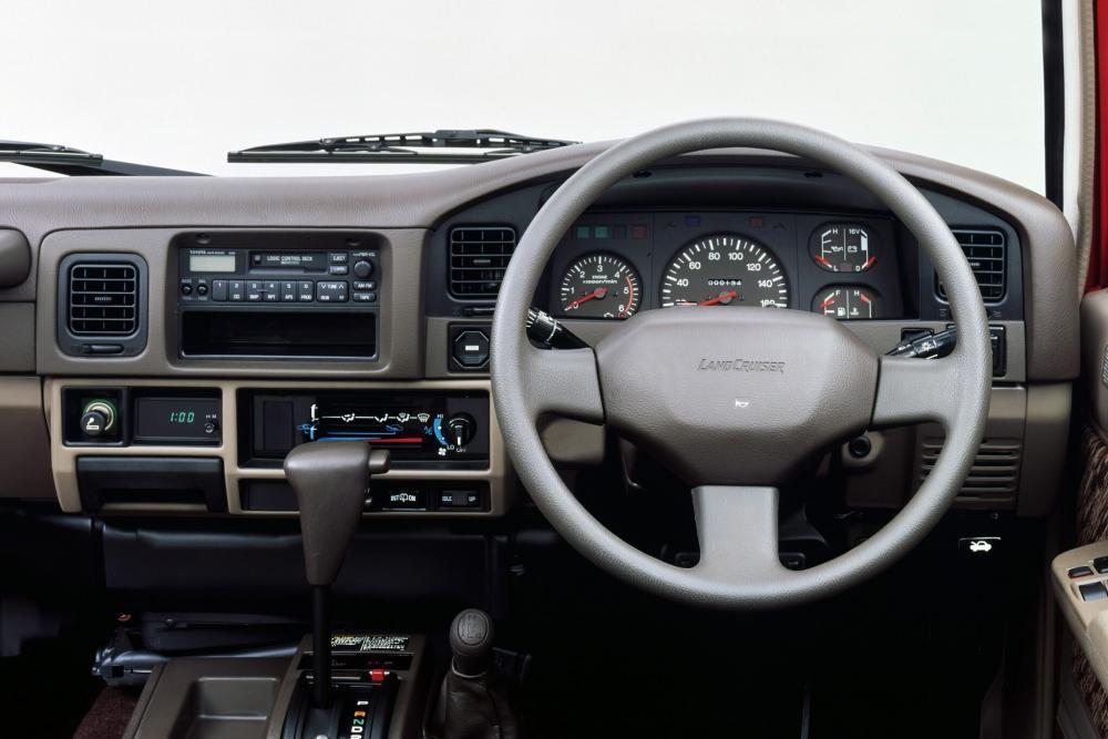 Toyota Land Cruiser Prado 1 поколение J70 (1990-1996) Внедорожник 3-дв. интерьер