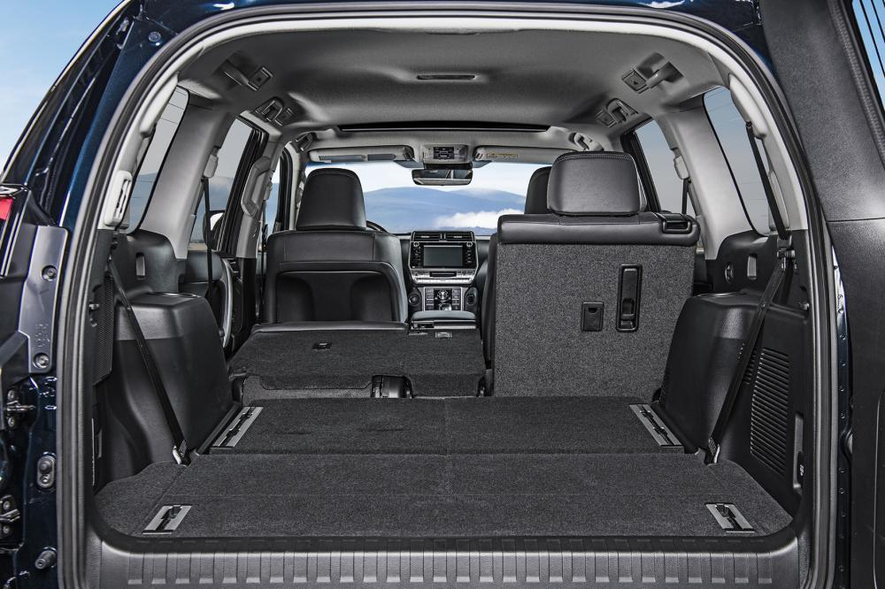 Toyota Land Cruiser Prado J150 2-й рестайлинг (2017) Внедорожник багажник