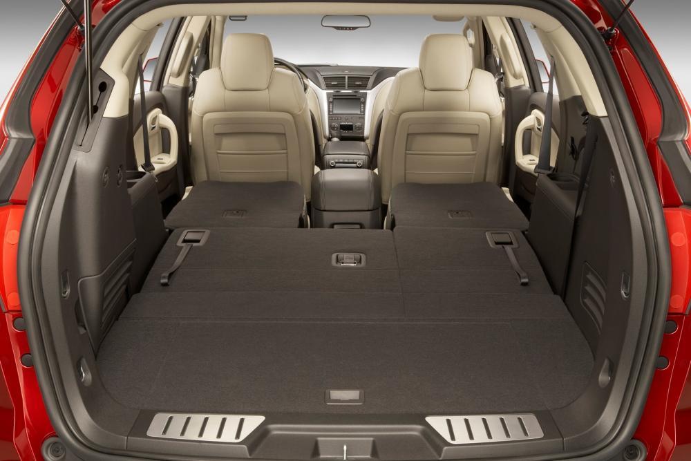 Chevrolet Traverse 1 поколение багажник