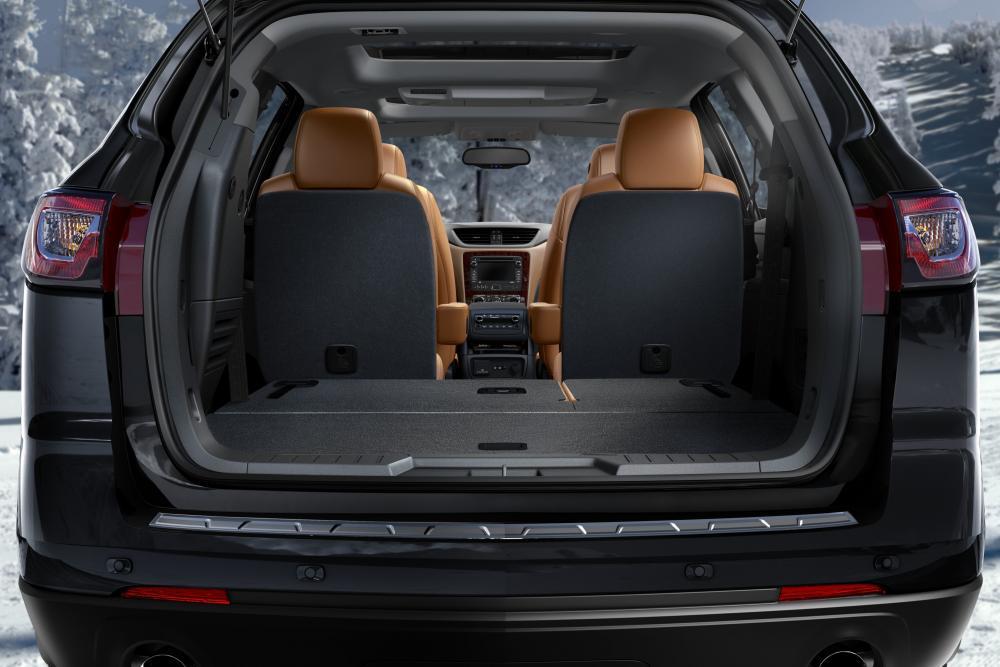 Chevrolet Traverse 1 поколение рестайлинг багажник