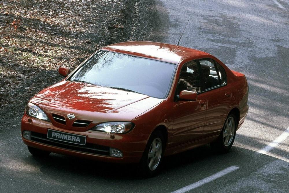 Nissan Primera 2 поколение P11 [рестайлинг] (1999-2002) Седан