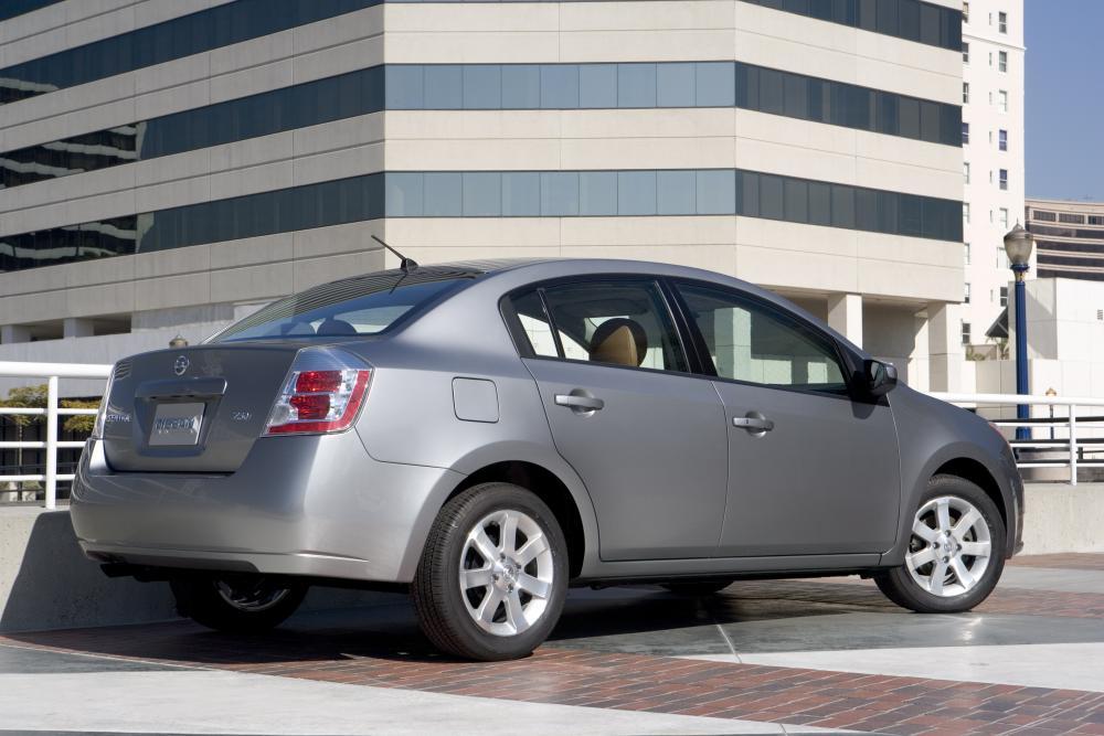 Nissan Sentra 6 поколение B16 (2006-2009) Седан