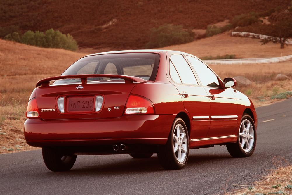 Nissan Sentra 5 поколение B15 (2000-2006) Седан