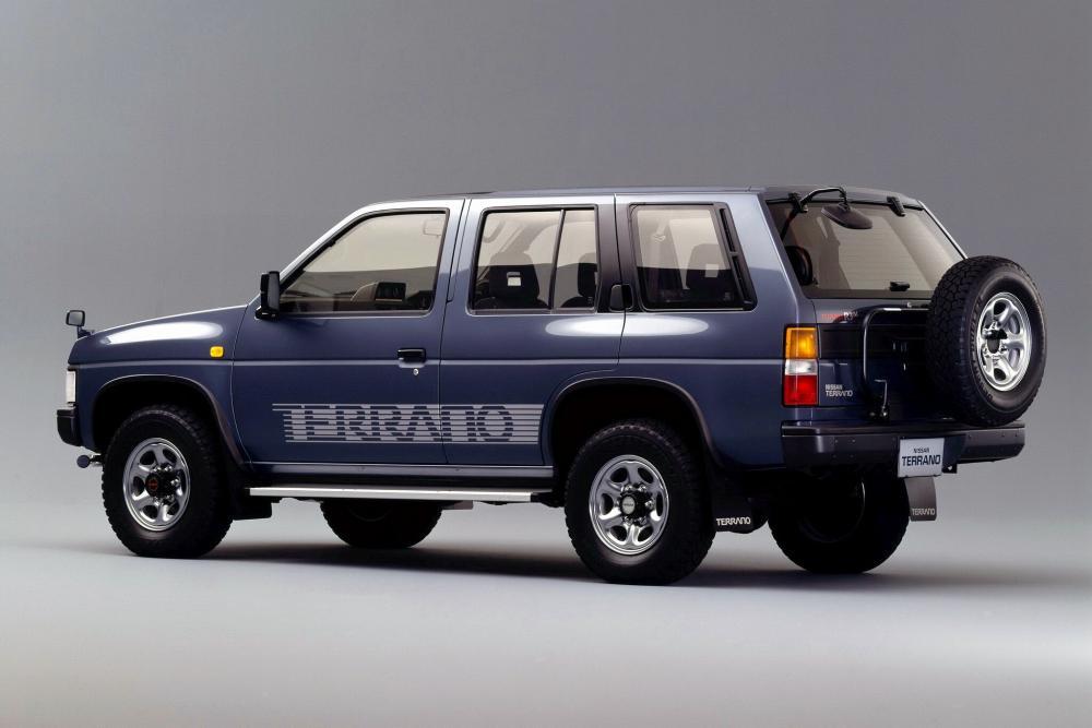 Nissan Terrano 1 поколение WD21 Внедорожник 5-дв.