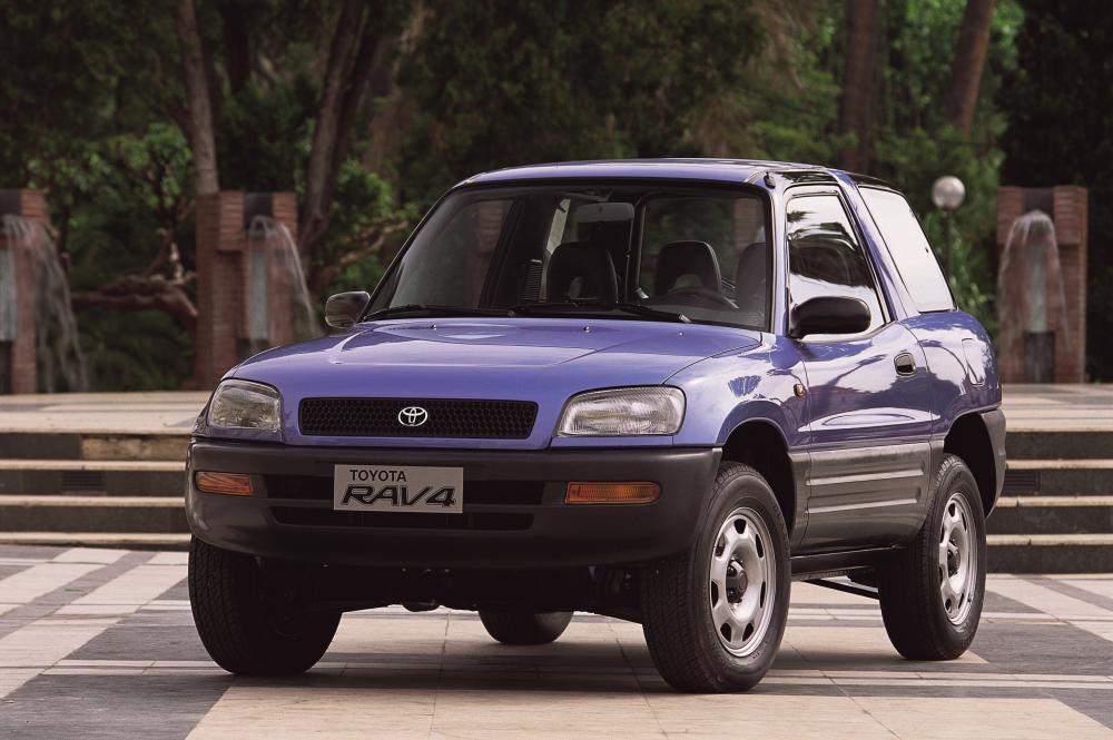 Toyota RAV4 1 поколение (1994-1998) Кроссовер 3-дв.