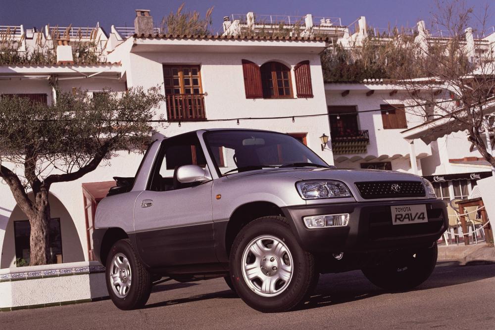 Toyota RAV4 1 поколение [рестайлинг] (1998-2000) Кроссовер 2-дв.
