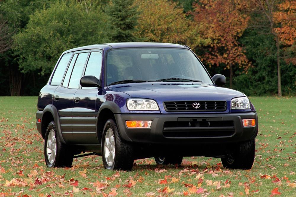 Toyota RAV4 1 поколение [рестайлинг] (1998-2000) Кроссовер 5-дв.