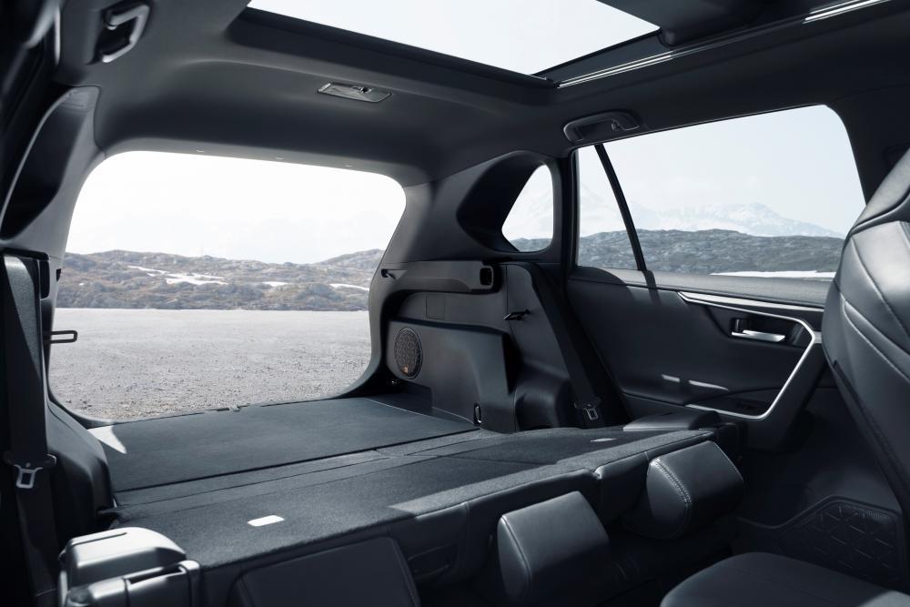 Toyota RAV4 5 поколение (2019) Кроссовер багажник