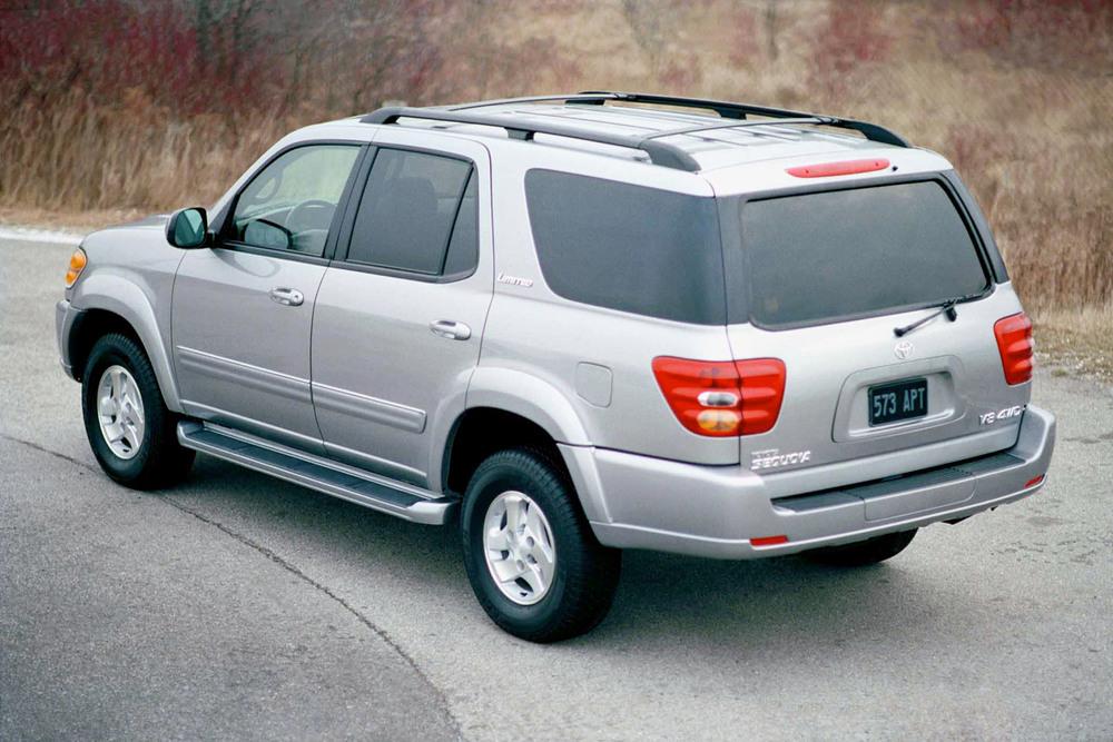 Toyota Sequoia 1 поколение (2001-2005) Внедорожник