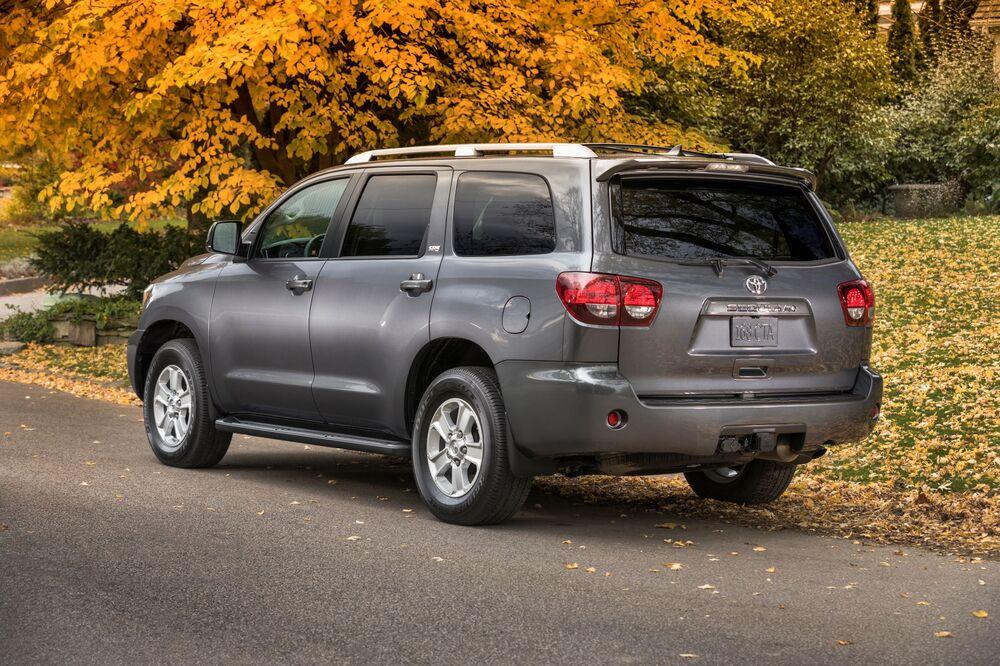 Toyota Sequoia 2 поколение [рестайлинг] (2017) Внедорожник