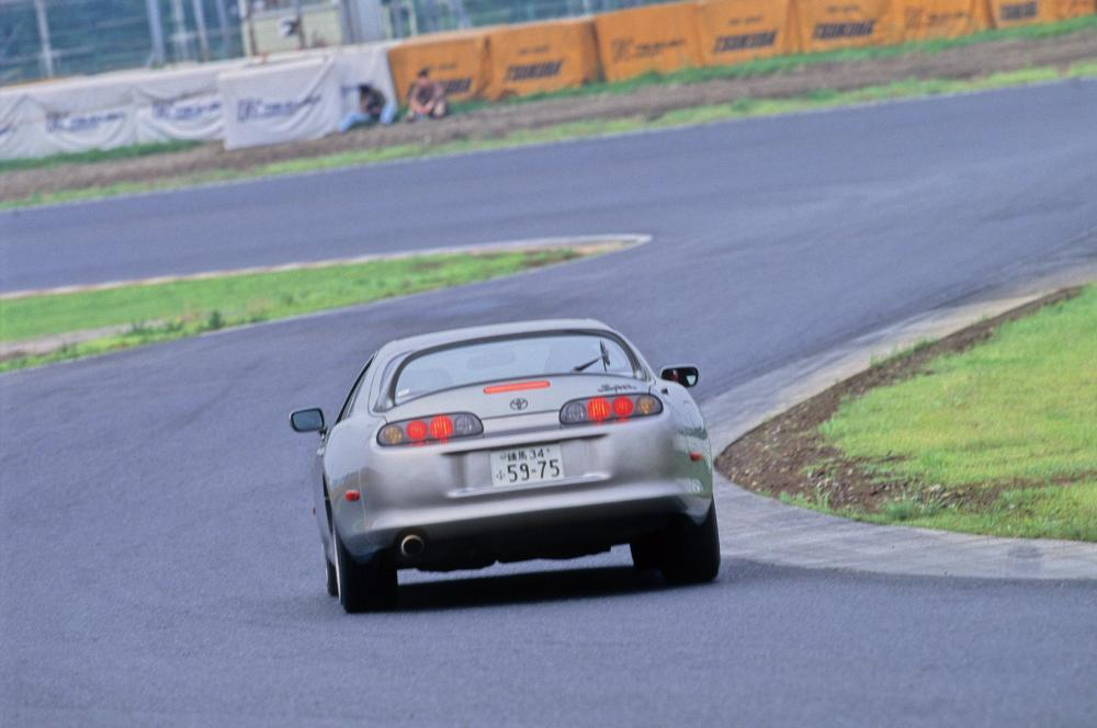Toyota Supra Mark IV рестайлинг купе