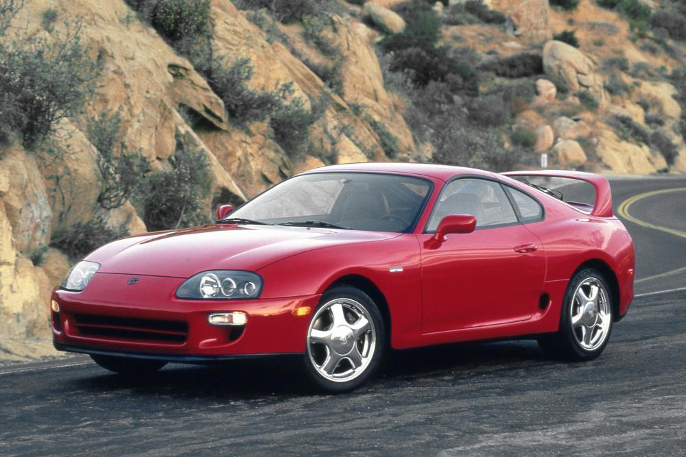 Toyota Supra Mark IV рестайлинг тарга