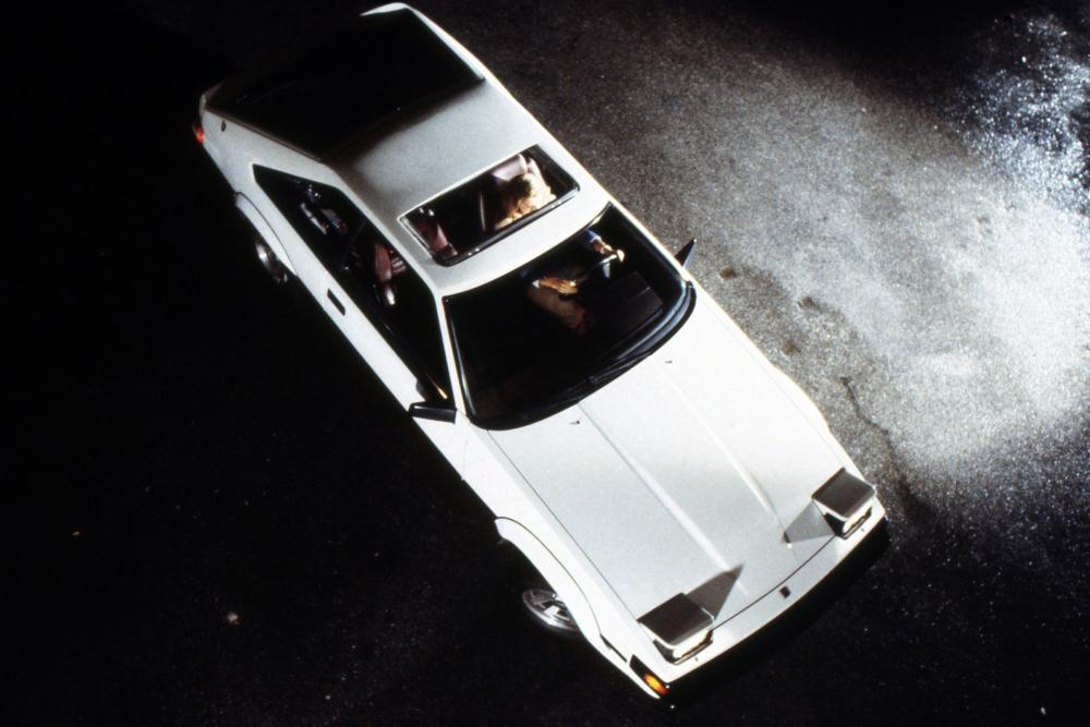 Toyota Supra Mark II рестайлинг вид сверху