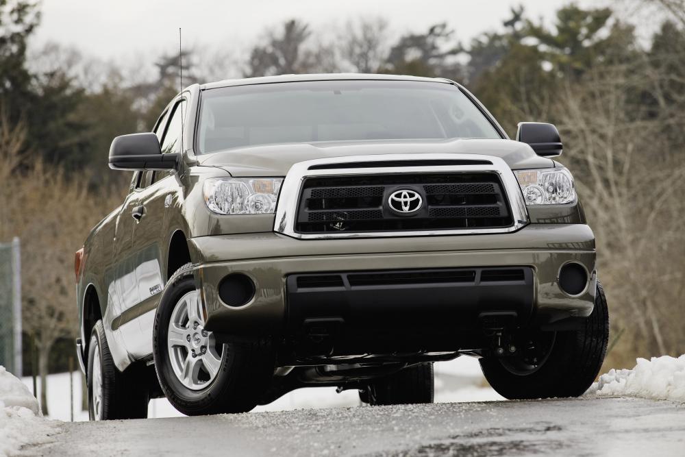 Toyota Tundra 2 поколение [рестайлинг] (2009-2013) Double Cab пикап 4-дв.