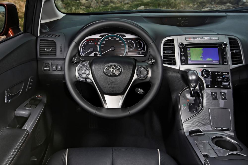 Toyota Venza 1 поколение [рестайлинг] (2012-2015) Кроссовер интерьер