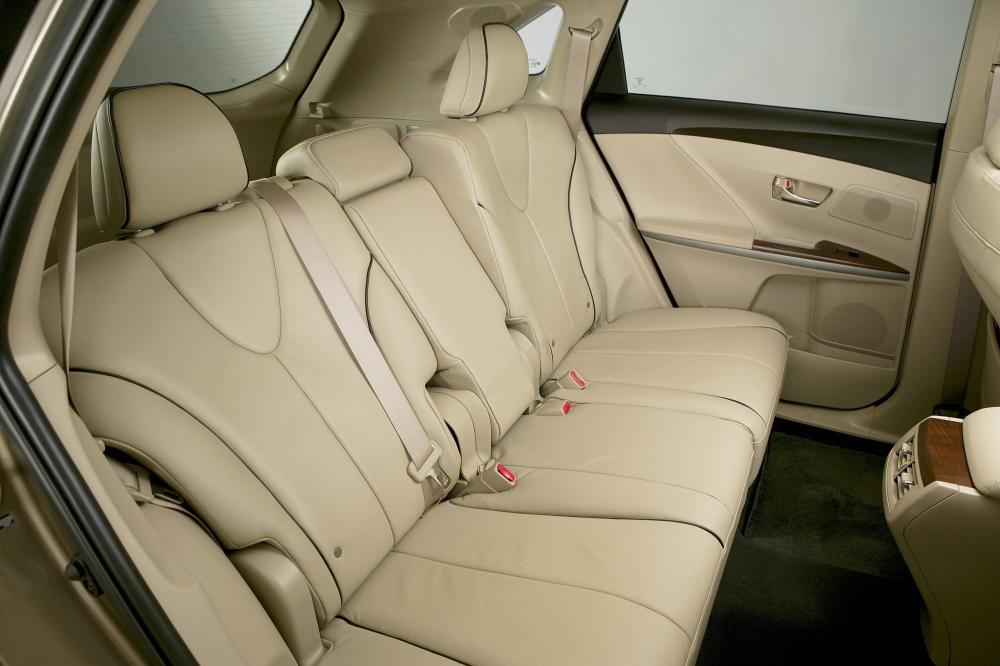 Toyota Venza 1 поколение (2008-2012) Кроссовер интерьер