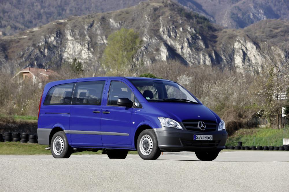 Mercedes-Benz Vito W639 рестайлинг Минивэн