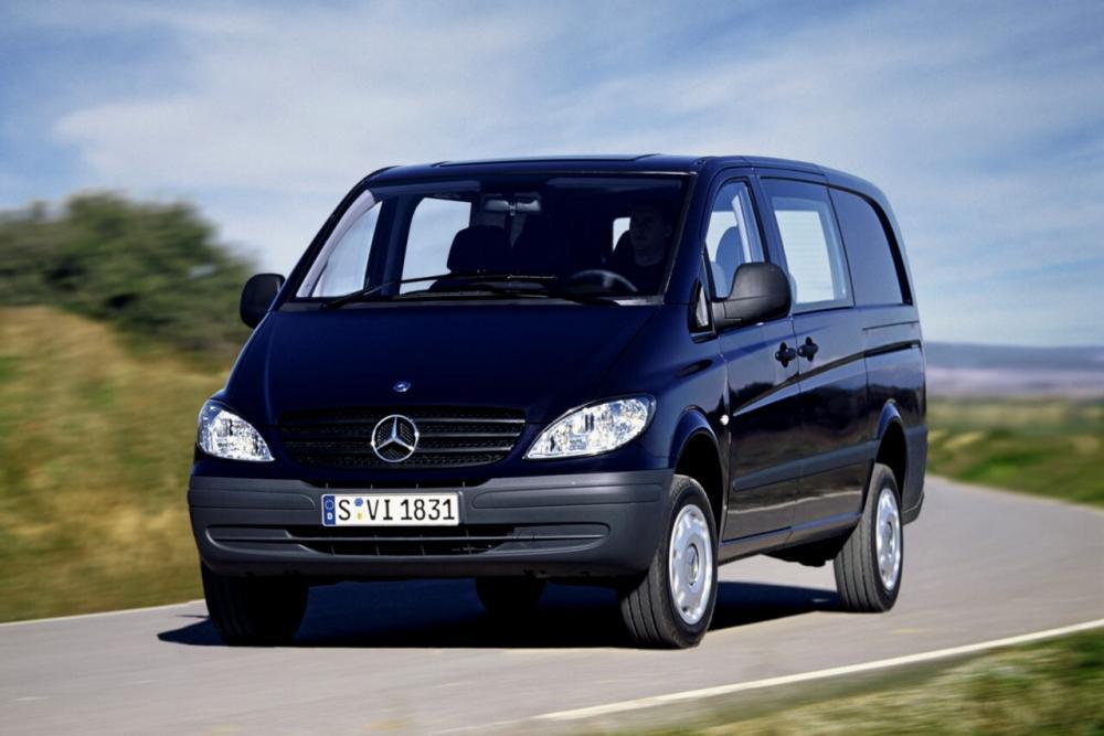 Mercedes-Benz Vito W639 (2003-2010) Минивэн 4-дв.