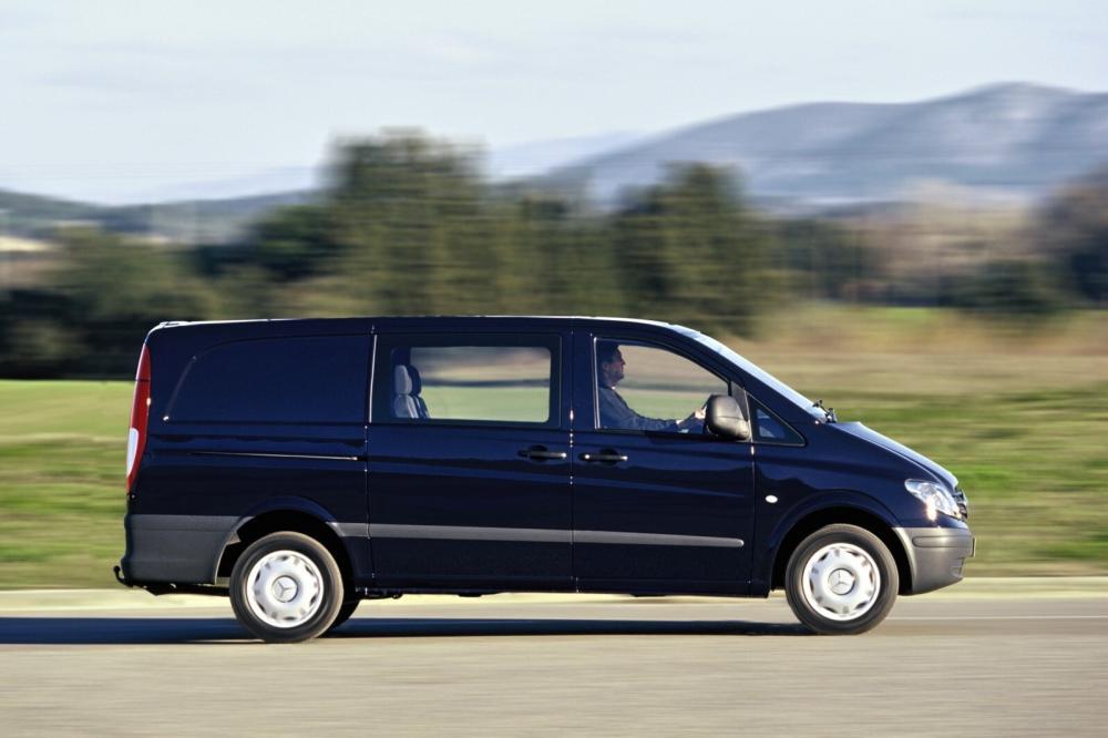 Mercedes-Benz Vito W639 (2003-2010) Mixto минивэн 4-дв.
