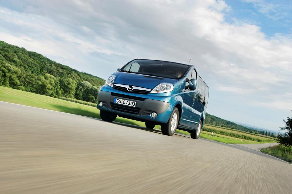 Opel Vivaro 1 поколение [рестайлинг] (2006-2014) Минивэн