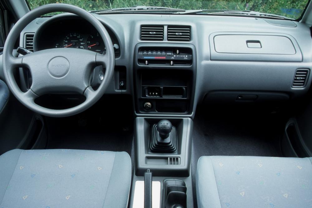 Suzuki Vitara 1 поколение TA Внедорожник 5-дв. интерьер