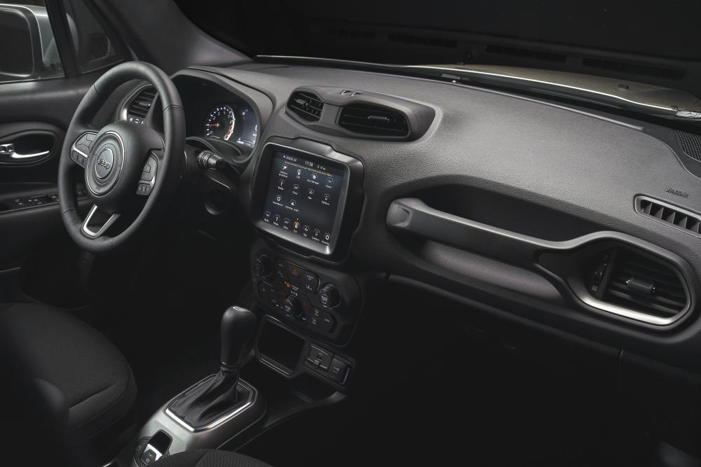 Jeep Renegade 1 поколение [рестайлинг] (2018) Кроссовер интерьер