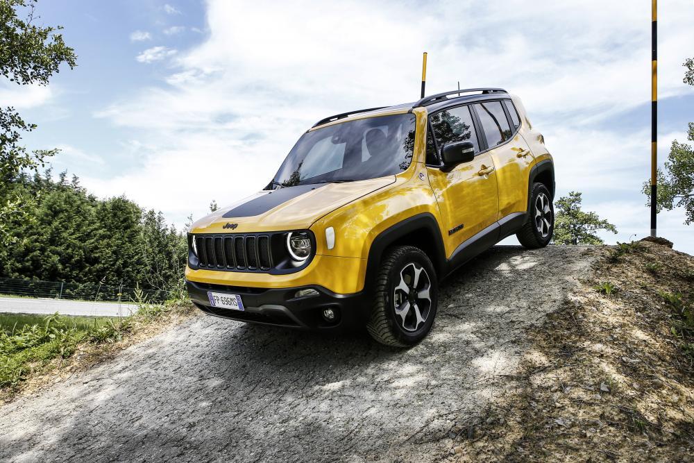Jeep Renegade 1 поколение [рестайлинг] (2018) Кроссовер