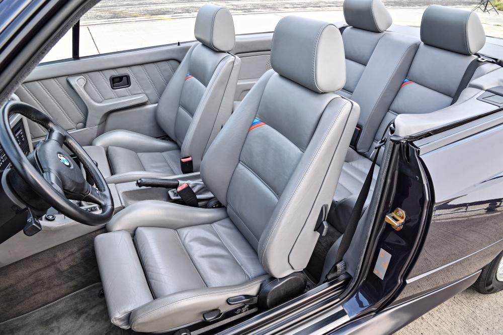 BMW M3 E30 (1988-1991) Кабриолет интерьер