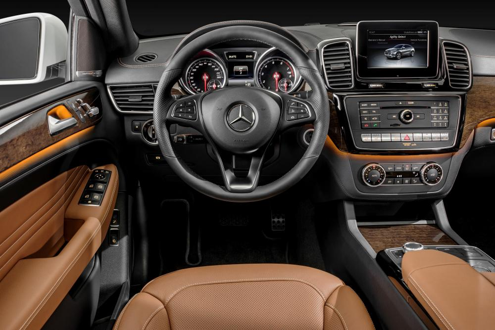 Mercedes-Benz GLE-Класс W166/C292 (2015) Coupe кроссовер 5-дв. интерьер