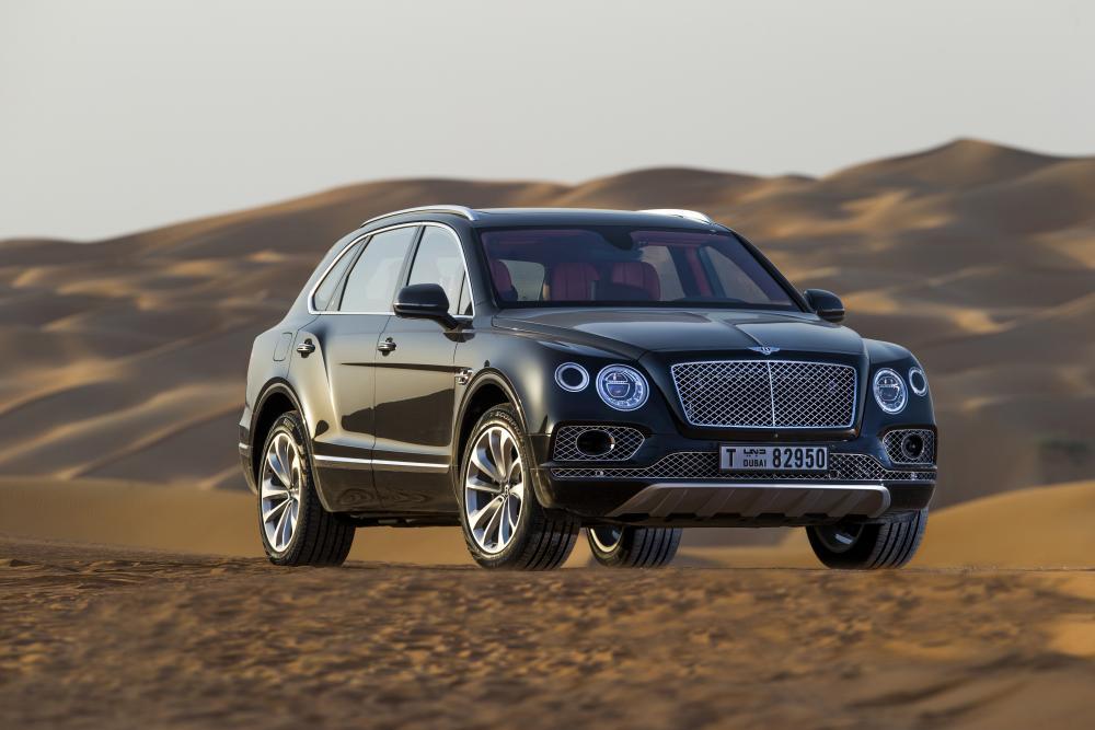 Bentley Bentayga 1 поколение (2015-2020) Кроссовер