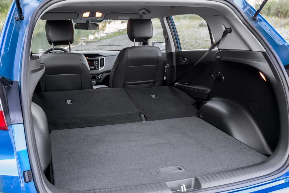 Hyundai Creta 1 поколение (2015) Кроссовер интерьер