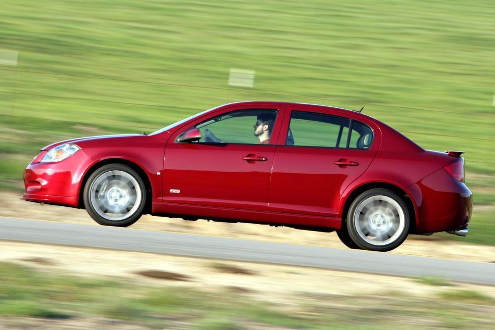 Chevrolet Cobalt 1 поколение рестайлинг (2008-2010) SS седан