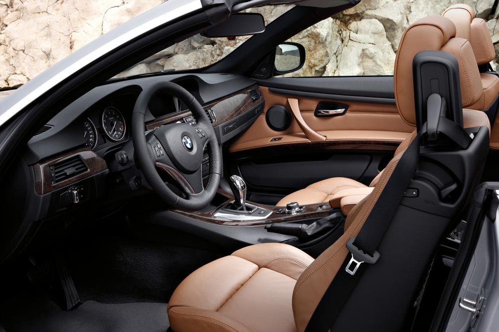 BMW 3 серия 5 поколение E93 [рестайлинг] (2010-2013) Кабриолет интерьер