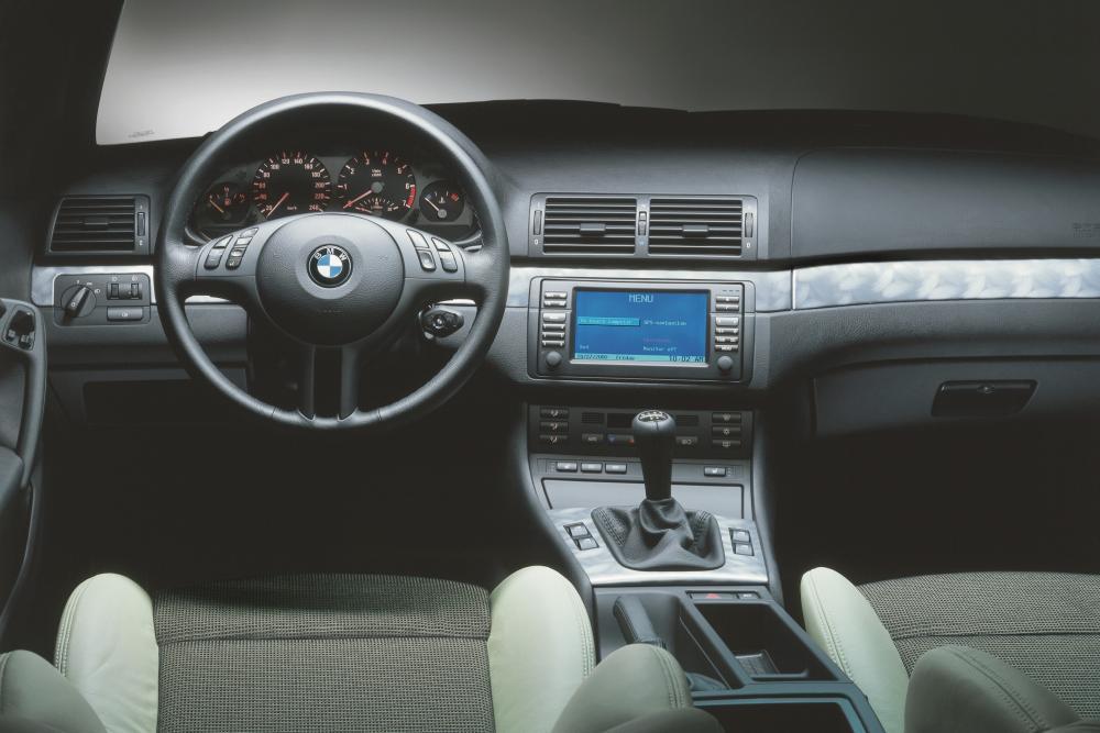 BMW 3 серия 4 поколение E46 [рестайлинг] (2001-2004) Compact хетчбэк интерьер