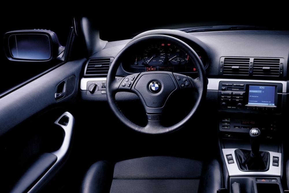 BMW 3 серия 4 поколение E46 (1999-2003) Купе интерьер