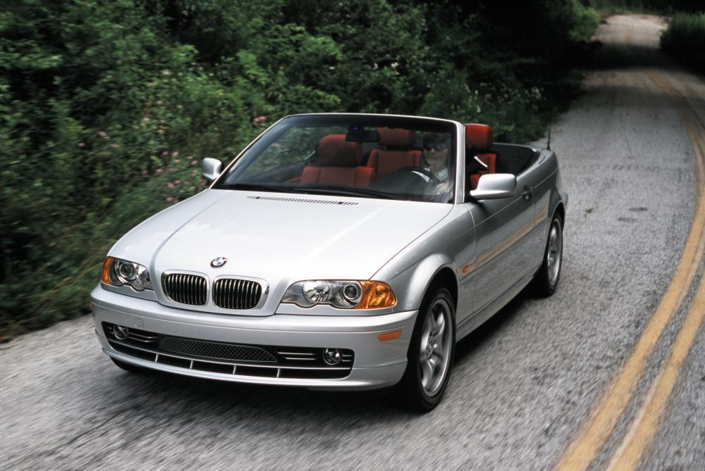 BMW 3 серия 4 поколение E46 (2000-2003) Кабриолет