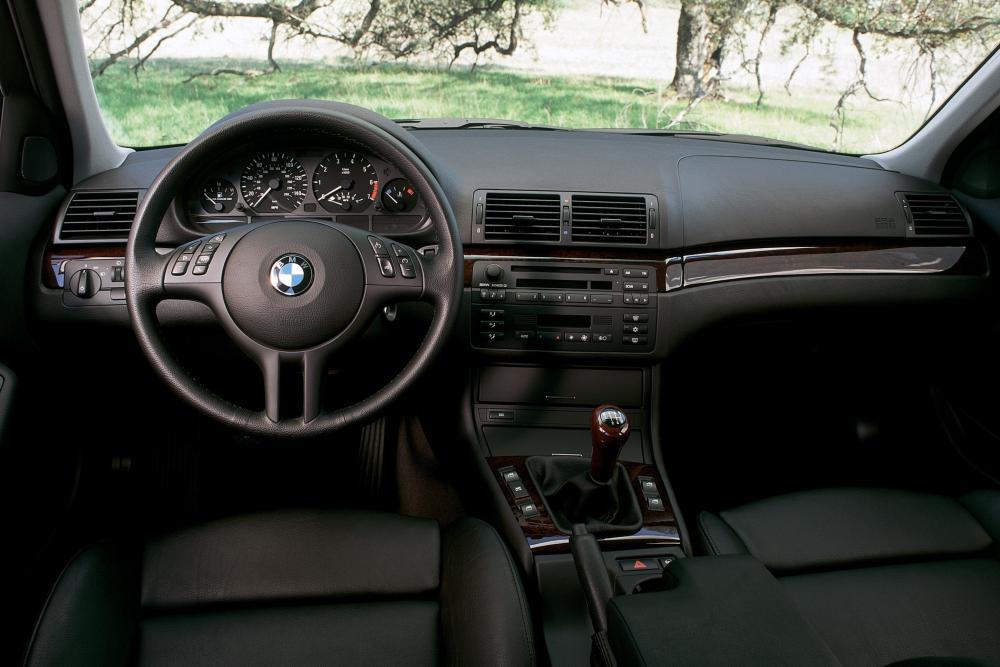 BMW 3 серия 4 поколение E46 (1998-2001) Touring универсал интерьер