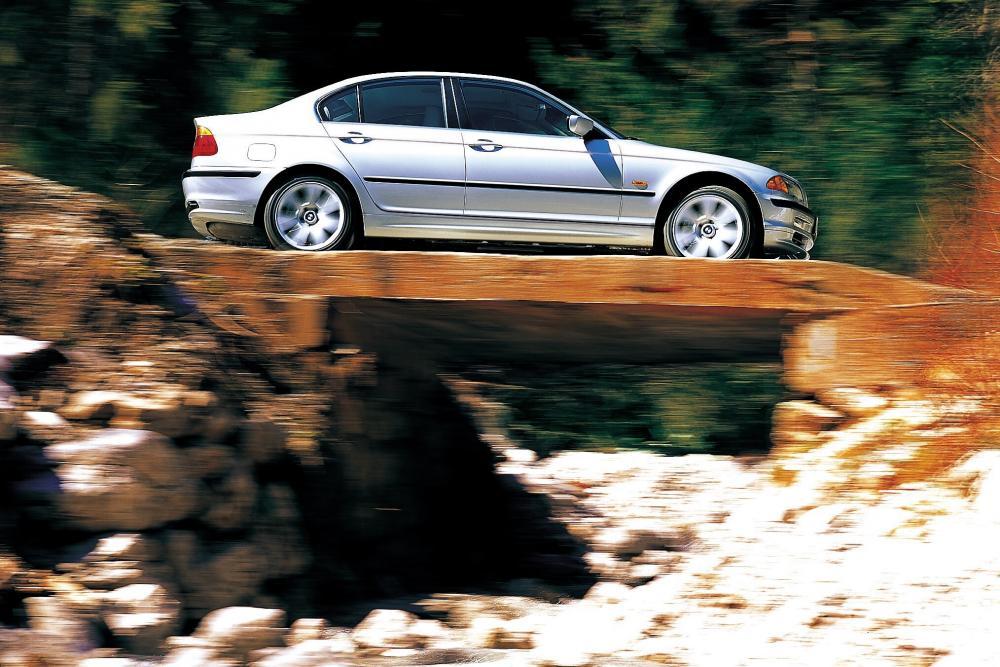 BMW 3 серия 4 поколение E46 (1997-2001) Седан 4-дв.