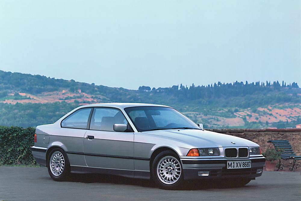 BMW 3 серия 3 поколение E36 (1991-1999) Купе