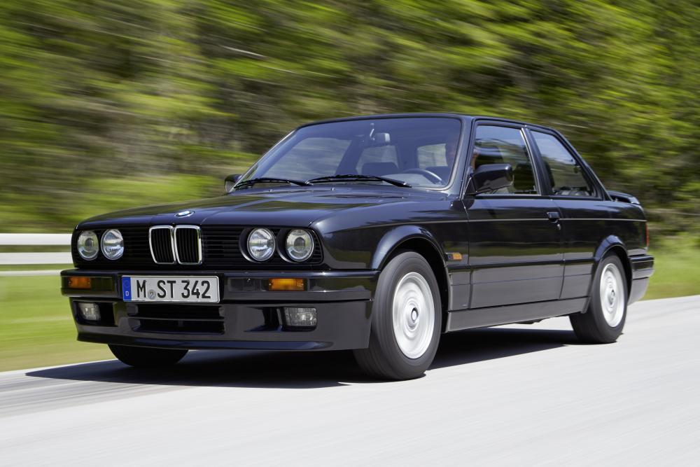 BMW 3 серия E30 рестайлинг купе