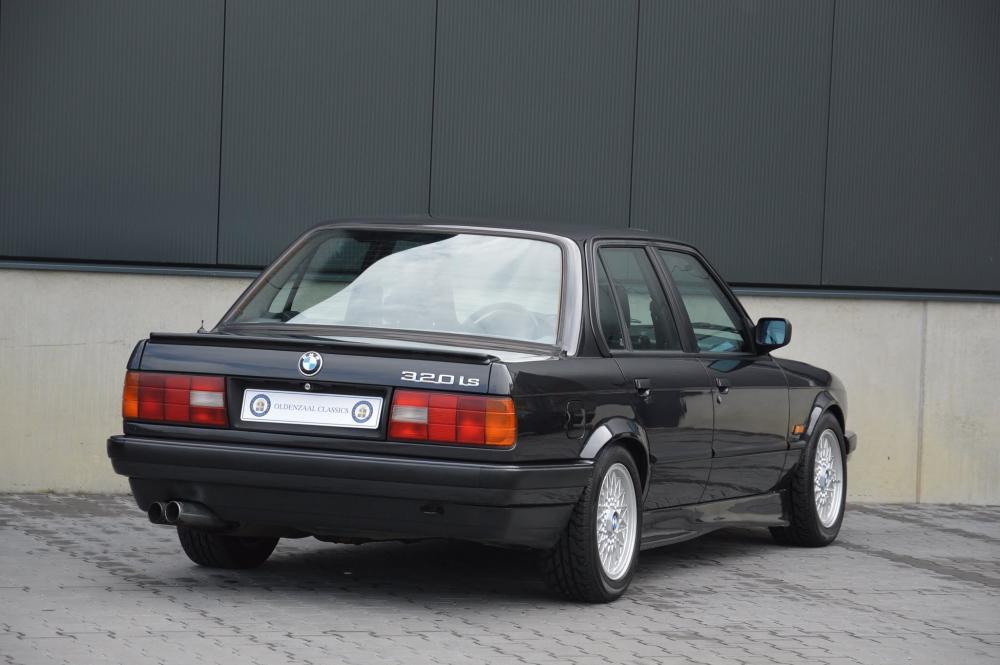 BMW 3 серия E30 [рестайлинг] (1987-1994) Седан