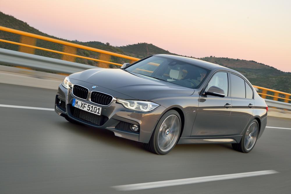 BMW 3 серия 6 поколение F30 [рестайлинг] (2015-2018) Седан