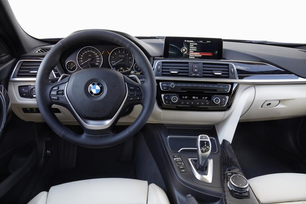 BMW 3 серия 6 поколение F30 [рестайлинг] (2015-2018) Седан интерьер