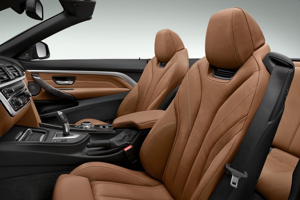 BMW 4 серия 1 поколение F33 (2013-2017) Кабриолет интерьер