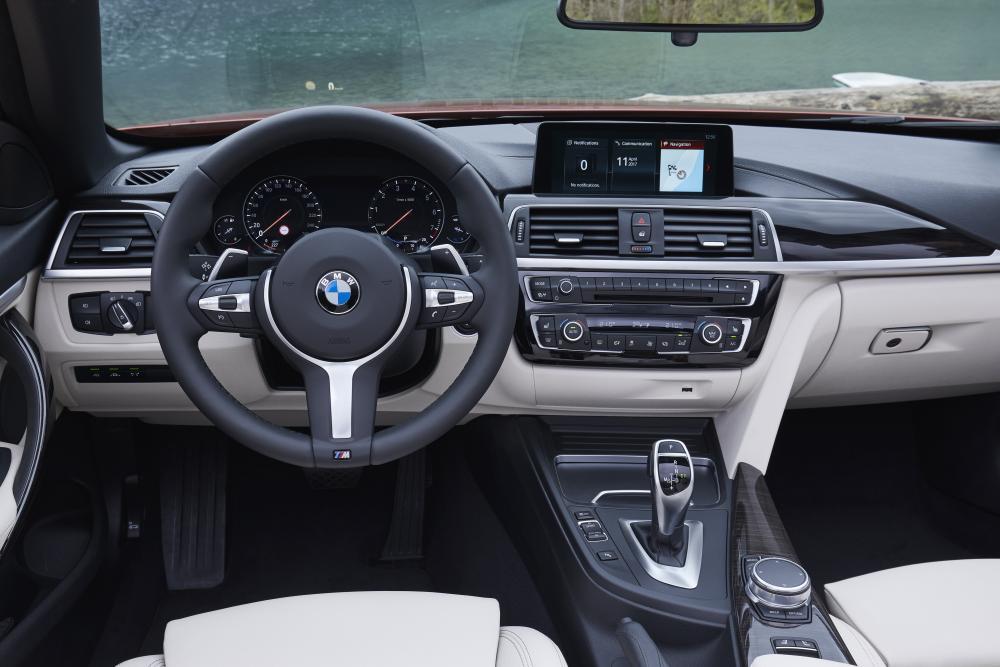 BMW 4 серия F33 [рестайлинг] (2017-2020) Кабриолет интерьер