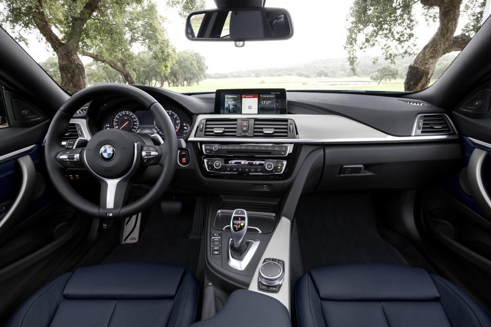 BMW 4 серия F32 [рестайлинг] (2017-2020) интерьер